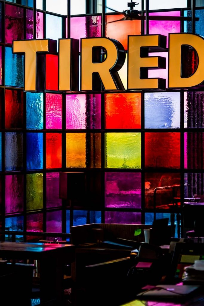 Hiding How Tired (Exhausted) You Are?