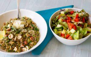Living Healthy List Asparagus Farro Salad